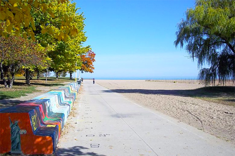Loyola Beach: Photo by Alan Scott Walker