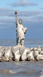 Statue of Liberty - Fargo Beach